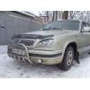 Защита передняя низкая с клыками D42 для ГАЗ Волга 31105 2004+ (UA-TUNING, GAZ31.04.NFRSG)