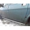 Боковые пороги D42 с трубой из нержавеющей стали для ГАЗ Волга 31105 2004+ (UA-TUNING, GAZ31.04.RBL)