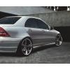 Аэродинамические накладки на пороги для Mercedes C-Class (W203) 2000-2003 (DT, 01518)