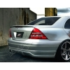 Задний спойлер (Cабля) для Mercedes C-Class (W203) 2000-2003 (DT, 01653)