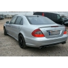Задний спойлер (Cабля) для Mercedes C-Class (W204) 2007+ (DT, 02033)