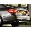 Задний спойлер (Cабля, ABS-пластик) для Mercedes E-Class (W212) 2009+ (DT, 21201)