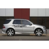 Аэродинамические накладки на пороги для Mercedes M-Class (W163) 1997-2005 (DT, 02052)