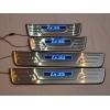 Накладки на пороги с подсветкой для Hyundai IX35 2010-2013 (Kindle, HT-P92)