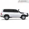 Выносной воздухозаборник (шноркель) Toyota LC 100/Lexus LX 470 1998-2007 (Safari, SS86HF)