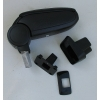 Подлокотник (черный, виниловый) для Suzuki SX4 2006+ (ASP, BSKS40720-NL)