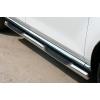 Пороги боковые труба с проступью B2 D70 (short) для Chevrolet Niva 2004-2010 (Can Otomotiv, CEVI.04.TRBPS7)