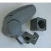 Подлокотник (серый, виниловый) для ZAZ Forza 2010+ (ASP, ASP-ARM-FORZA)