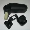 Подлокотник (черный, виниловый) для Suzuki Swift 2005-2009 (ASP, asp-arm-sw-bl)