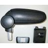 Подлокотник (черный, текстильный) для Nissan Tiida 2007-2013 (ASP, BNSTD0520-NT)
