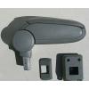 Подлокотник (серый, виниловый) для Nissan Tiida 2007+ (ASP, BNSTD0520-GL)