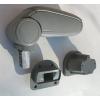 Подлокотник (серый, виниловый) для Hyundai Accent 2006+ (ASP, BHYAC0620-GL)