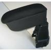 Подлокотник (черный, текстильный) для Ford Fiesta (Mk6) 2002-2008 (Botec, 64108TB)