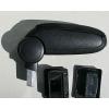 Подлокотник (черный, текстильный) для Volkswagen Golf IV 1997-2003 (ASP, ASP-ARM-VWGOLF4-TX)