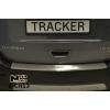 Накладка с загибом на задний бампер для Chevrolet Tracker 2013+ (NataNiko, Z-CH13)