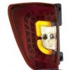 Задняя светодиодная оптика LED красные тонированные для Daihatsu Terios 2006+ (JUNYAN,60-1408SRC)