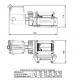 Лебедка электрическая Works 3700 (WARN, 93700)