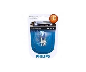 Авто-лампы H3 12V 55W PK22S PREMIUM 1 шт. (Philips, PS 12336 PR C1)