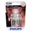 АВТО-ЛАМПЫ P21W 12V 21W BA15S (ДВОХНИТ) 2 ШТ. (PHILIPS, PS 12499 VP B2)