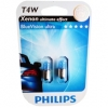 Авто-лампы T4W 12V 4W BA9S T8,5X24,5 1 шт. (Philips, PS 12929 CP)