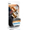 АВТО-ЛАМПЫ PY21W 12V 21W BAU15S AMBER (ОДНОНИТ)  2 ШТ. (PHILIPS, PS 12496 NA B2)