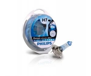 Авто-лампы H7 12V 55W PX26D BLUEVISION 2 шт. (Philips, PS 12972 BVU SM)