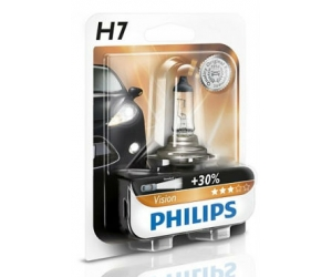 Авто-лампы H7 12V 55W PX26D PREMIUM 1 шт. (Philips, PS 12972 PR B1)