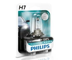 Авто-лампы H7 12V 55W PX26D-X-TREMEVISION 1 шт. (Philips, PS 12972 XV B1)