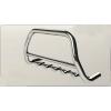 Защита передняя низкая с клыками D60 для SUZUKI Jimny 2006+ (Can Otomotiv, SUJI.06.TNFRSG)