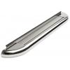 Пороги боковые труба с листом C2 D60 (short) для SUZUKI Jimny 2006+ (Can Otomotiv, SUJI.06.TRBLNS6)