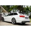 Спойлер заднего стекла (Бленда) для Audi A6 (C7) 2011+ (DT, 22120)