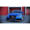 Диффузор переднего стандартного (рест.) бампера для  Audi A5 (8T) 2011+ (DT, AU-RS5F-1-FD1)