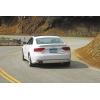 Аэродинамическая накладка на задний бампер для Audi A5 (8T) Coupe 2007+ (DT, 00474)