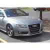 Аэродинамическая накладка на передний бампер для Audi A5 (8T) Coupe 2007+ (DT, 03665)