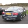 Задний спойлер (Cабля) для Audi A5 (8T) Coupe 2007+ (DT,  00760)