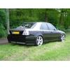 Аэродинамическая накладка на задний бампер Mercedes C-Class (W202) 1993-2000 (DT, 01981)