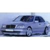 Аэродинамическая накладка на передний бампер Mercedes C-Class (W202) 1993-2000 (DT, 01118)