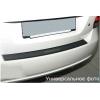 Накладка с загибом на задний бампер (карбон) для BMW X1 (E84) 2009-2012 (NataNiko, Z-BM08+k)