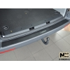 Накладка с загибом на задний бампер (карбон) для Volkswagen Transporter/Multivan (T5/T6) 2003+ (NataNiko, Z-VW29+k)