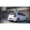 АЭРОДИНАМИЧЕСКАЯ НАКЛАДКА НА ЗАДНИЙ (GTI) БАМПЕР VOLKSWAGEN POLO 2009+ (DT, VW-PO-5-GTI-RS1)