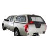 Заднее стекло кунга для Nissan Navara D40 2007+ (Aeroklas, SKLO)