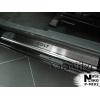 Накладки на пороги для Mitsubishi Colt VI/VII (3D) 2004+ (Nata-Niko, P-MI02)
