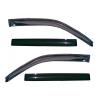 Дефлекторы окон для Audi A8/S8 (D3) SD 2002-2010 (COBRA, A12602)