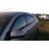 Дефлекторы окон (EuroStandard) для Nissan Almera (G11) SD 2012+ (COBRA, NE14312)