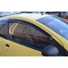Дефлекторы окон для Peugeot 107/Citroen C1 (3D) 2005-2008 (COBRA, P10105)