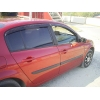 Дефлекторы окон для Renault Megane II SD 2002-2008 (COBRA, R10702)