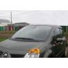 Дефлекторы окон (EuroStandart) для Renault Modus (5D) 2004-2008 (COBRA, RE12904)