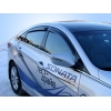 Дефлекторы окон (ветровики) для Hyundai Sonata 2010-2019 (SIM, SHYSON1032)