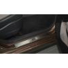 Накладки на внутренние пороги для Hyundai I10 2014+ (Nata-Niko, P-HY22)
