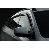 Дефлекторы окон (ветровики) для Nissan Tiida SD 2004+ (SIM, SNITIIS0632)